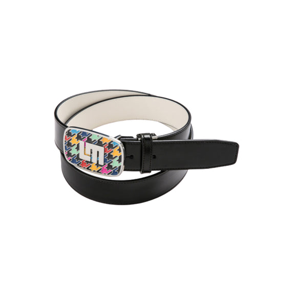 LoudMouth - Men's LM Razzle Dazzle Black Adjustable Belt