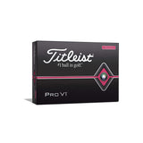 Titleist - Pro V1 with Pink Play Number and Sidestamp