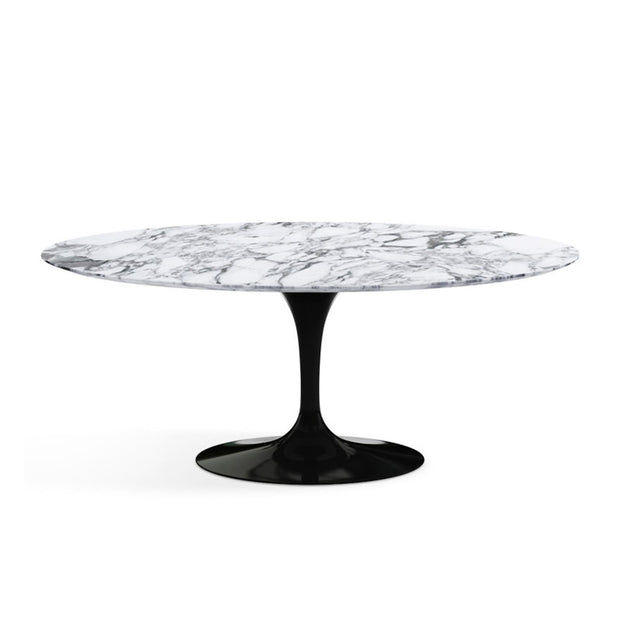 Oval Tulip Dining Table Arabescato Marble | Eero Saarinen | Designer Furniture Replicas | M-Edition