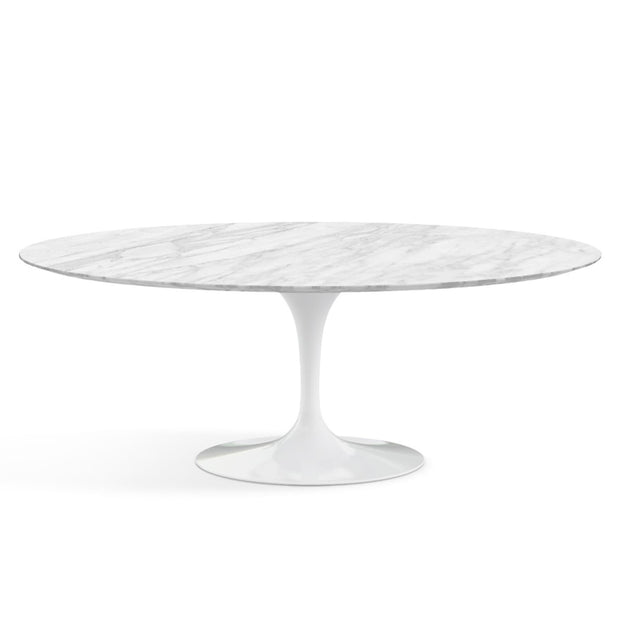 Oval Tulip Dining Table - Carrara Marble | Eero Saarinen | Designer Furniture Replicas | M-Edition