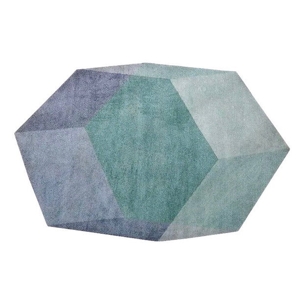 Hexagon Isometric Rug | Replica Designer Furniture | M-Edition