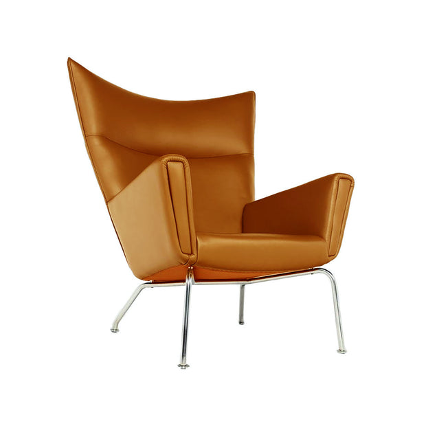 CH445 Wing Chair Leather | Reproduction Designer Furniture | M-Edition
