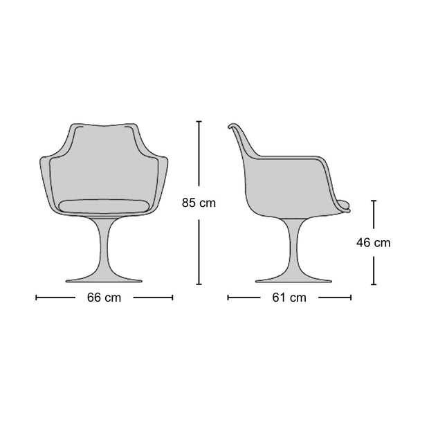 Tulip Armchair | Designer Furniture Replicas | M-Edition