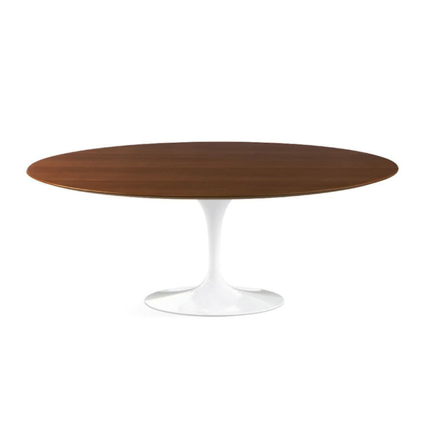 Oval Tulip Dining Table - Wood Top | Designer Furniture Replicas | M-Edition