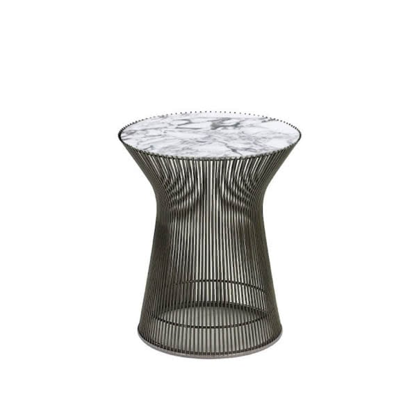 Platner Side Table - Marble Top | Designer Furniture Replicas | M-Edition