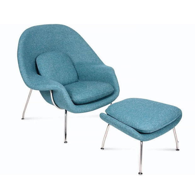 Womb Chair and Ottoman | Replica Designer Furniture | M-Edition