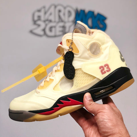 Off White Air Jordan 5 Retro - Sail