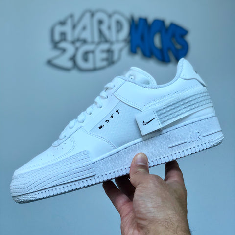 Nike N.354 Air Force 1 Type - White/White