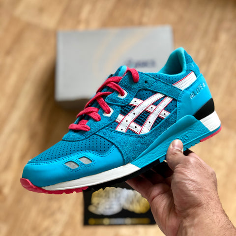 Bait x Asics Gel Lyte III - Teal Dragon (re-issue)