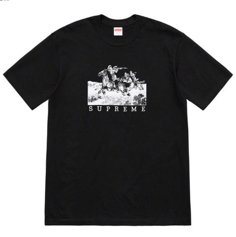 Supreme Riders Tee - Black