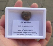 Load image into Gallery viewer, 11g Gao-Guenie Ordinary Chondrite Meteorite