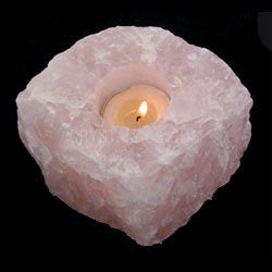 Rose Quartz Tea Light