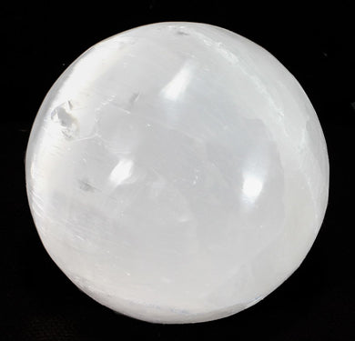 Polished Selenite Sphere |Earthfound.co.uk