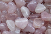 Load image into Gallery viewer, Rose Quartz Hearts | Earthfound.co.uk