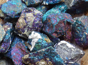 Peacock Ore | Earthfound.co.uk