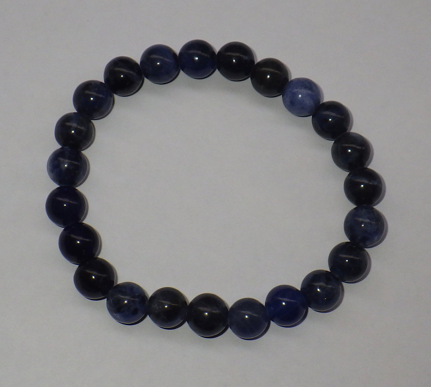 Sodalite Gemstone Bracelet | Earthfound.co.uk