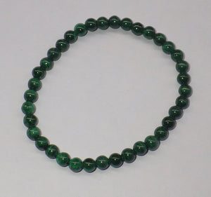 Malachite Gemstone Bracelet | Earthfound.co.uk