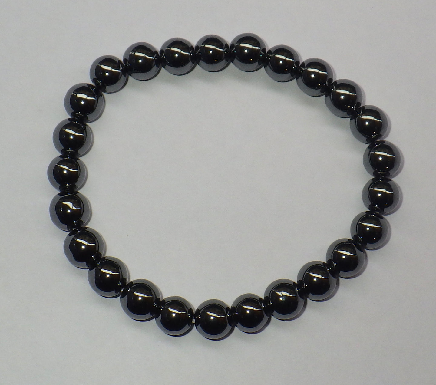 Hematite Gemstone Bracelet | Earthfound.co.uk