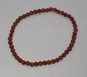 Goldstone Gemstone Bracelet | Earthfound.co.uk