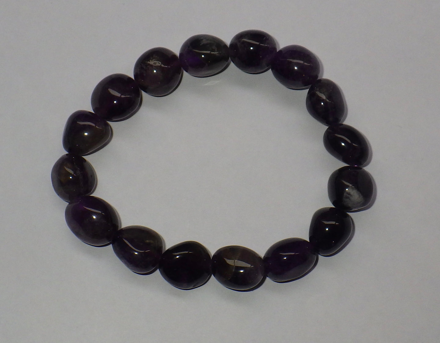 Amethyst Gemstone Bracelet | Earthfound.co.uk