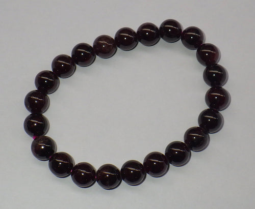 Garnet Gemstone Bracelet | Earthfound.co.uk