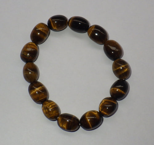 Tiger's Eye Gemstone Bracelet | Earthfound.co.uk