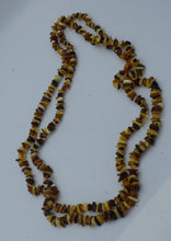Load image into Gallery viewer, 25 Inch Three Colour Chip Baltic Amber Necklace | Earthfound.co.uk