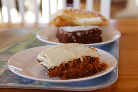 Carrot Cake With Cream Cheese Frosting, BenfoComplete, Diabetic Dish