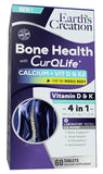 Bone Health with CurQLife and Calcium, Vitamin D & K2 For Whole Body - BenfoComplete