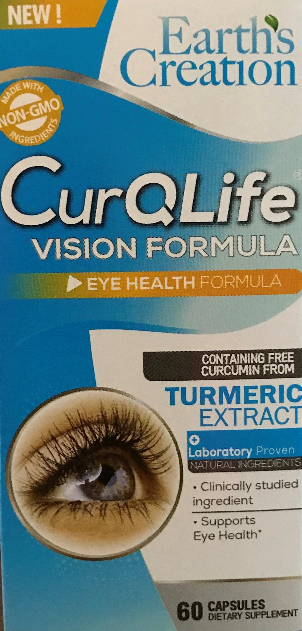 CurQLife Vision Care® Formula for Eye Health - BenfoComplete
