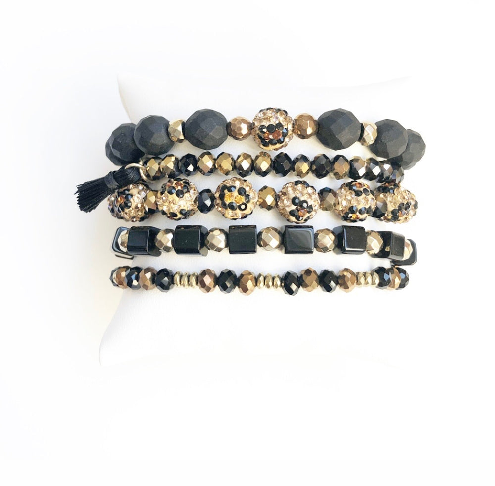 Black Leopard Stack