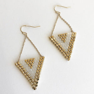 Beaded Triangle