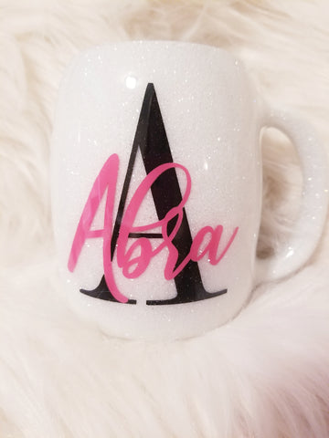 Unstoppable Woman Glitter Mug