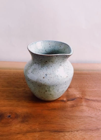 speckled green handheld pitcher no. 2