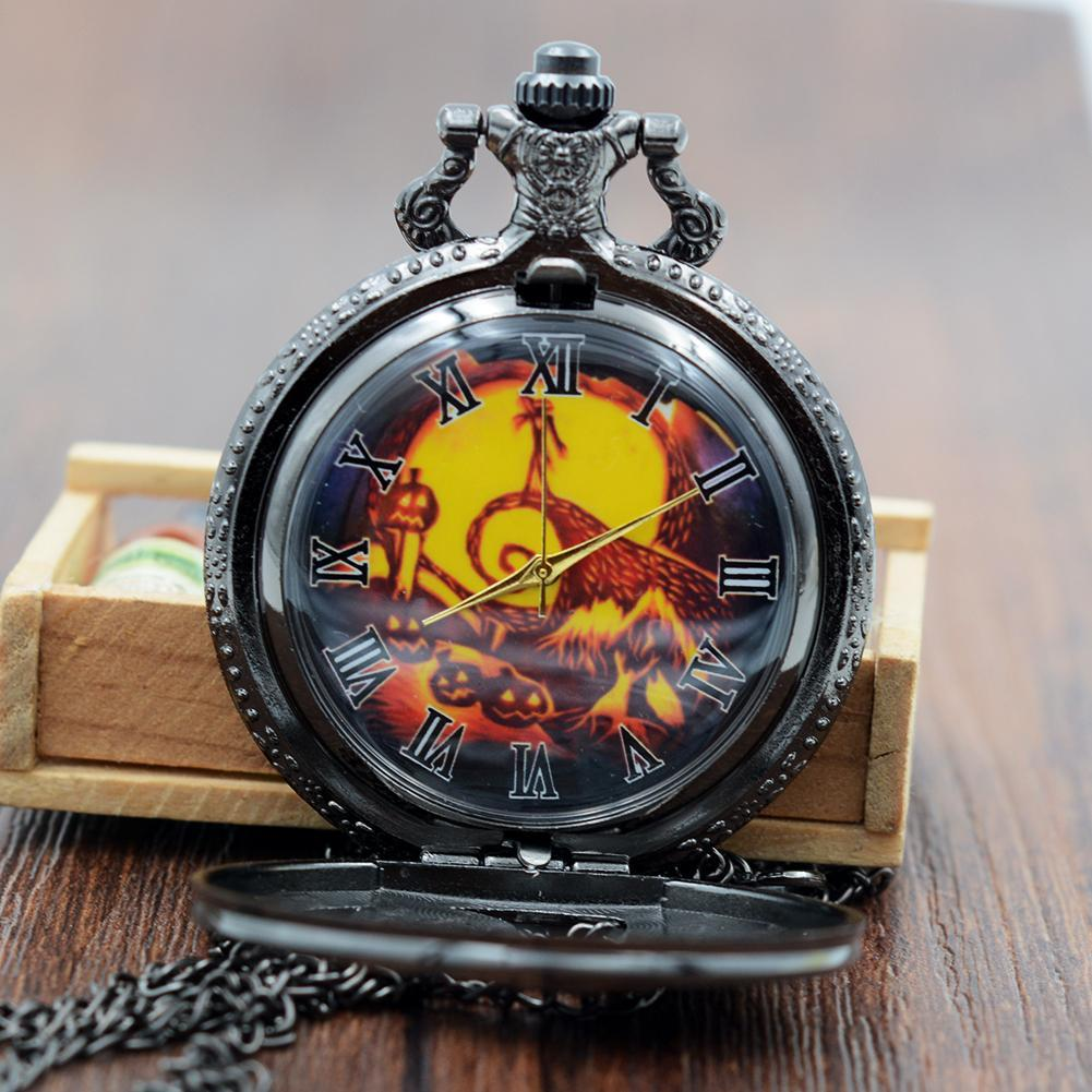 The Nightmare Before Christmas Watch Necklace - CreatedOn