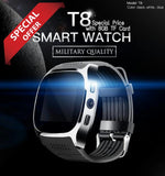 New T8 Bluetooth Sport Pedometer Smart Watch