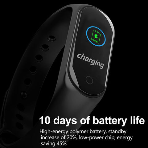 M3 Plus Smart Fitness Tracker Bracelet for Android IOS