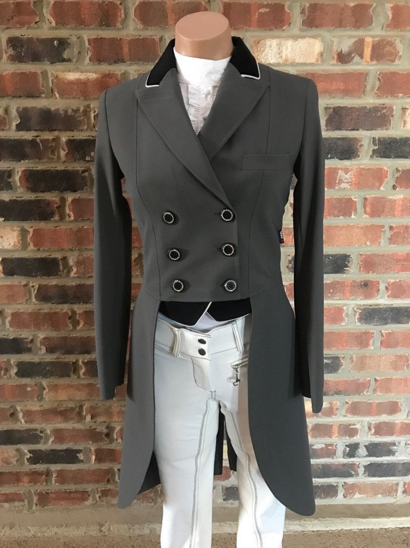 EQUILINE CADENCE TAIL COAT GREY
