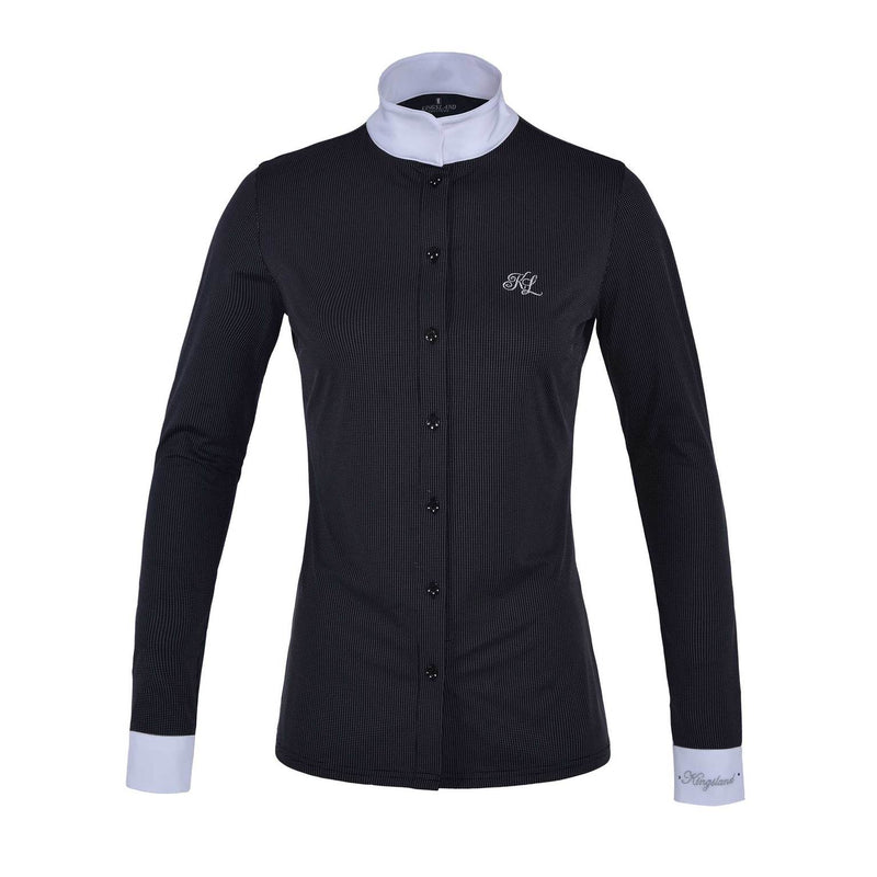 KINGSLAND LONGSLEEVE SHOW SHIRT MINI CHECK