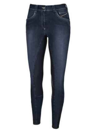 Pikeur Darjeen Grip Denim Breeches