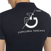 CAVALLERIA TOSCANA LS COTTON PIQUE TEAM POLO