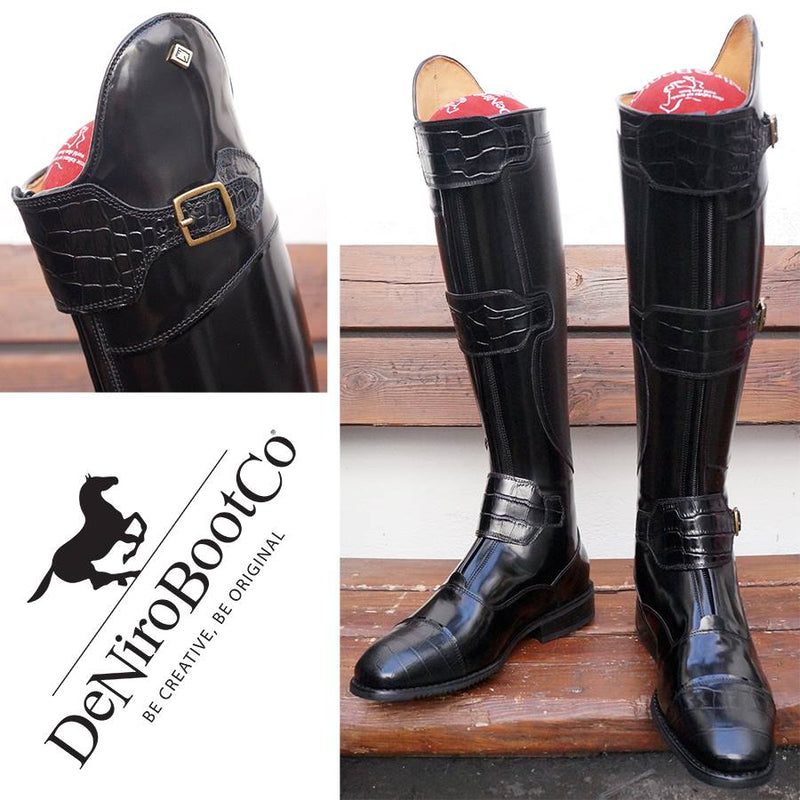 DENIRO POLO BOOTS WITH 3 BUCKLES