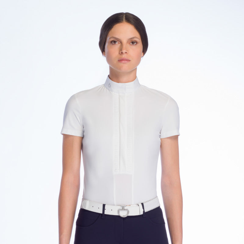 CAVALLERIA TOSCANA PLEATED SHOW SHIRT