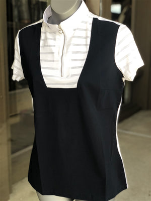 CT SHEER STRIPE SHOWSHIRT