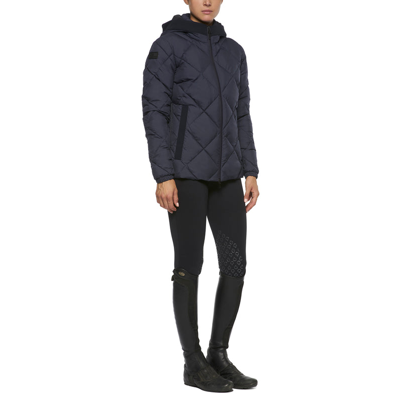 CAVALLERIA TOSCANA HOODED PUFFER