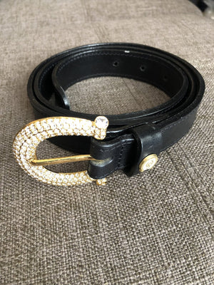OS Swarovski Horseshoe Belt
