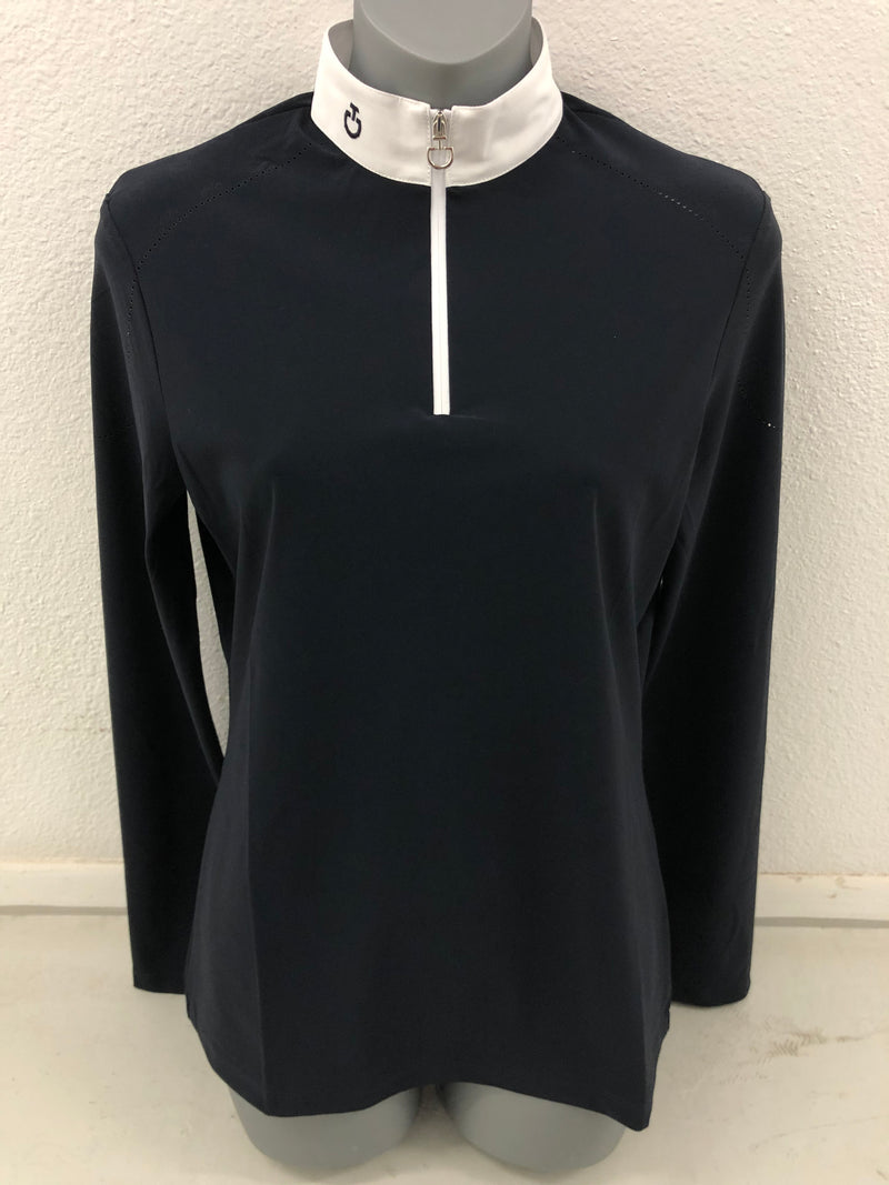 CAVALLERIA TOSCANA LS SHOW AND TRAINING SHIRT