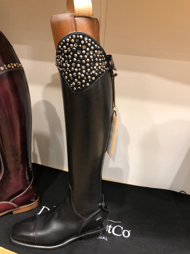 DENIRO BOOTS STUD/CRYSTAL TOP