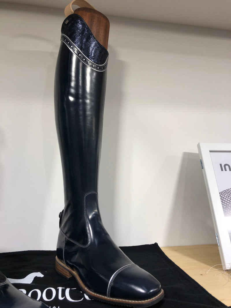 DENIRO BOOTS BLUE TOP