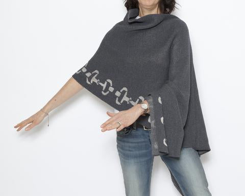 ECO METALLIC BIT PONCHO